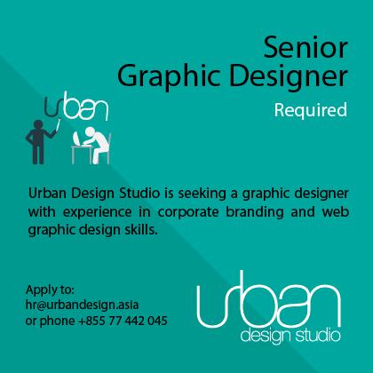 Senior Graphic Designer Required @ Urban Design Studio